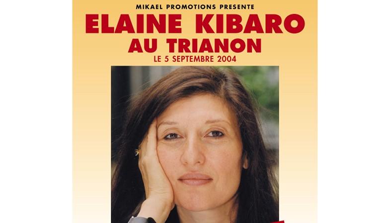 """Elaine Kibaro au """"Trianon"""" - Septembre 2004"""